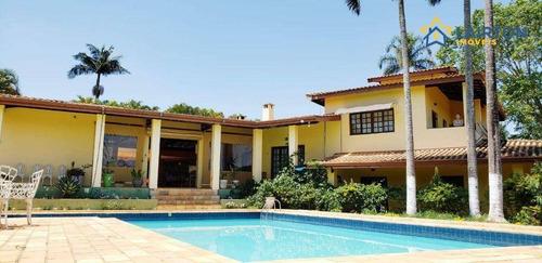 Imagem 1 de 30 de Chácara Com 6 Dormitórios À Venda, 5000 M² Por R$ 1.190.000,00 - Alvorada - Jarinu/sp - Ch1377
