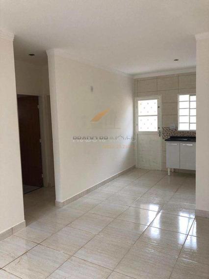 Casa Nova, 2 Dorms, Quintal, 2 Vagas No Pedra Branca, Rib Preto - V56066
