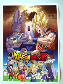 Poster Dragon Ball Z Batlle Of Gods