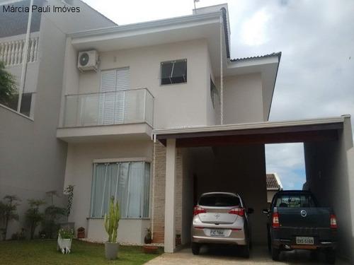 Casa A Venda No Portal Da Primavera Em Campo Limpo Paulista - Ca02822 - 34441325