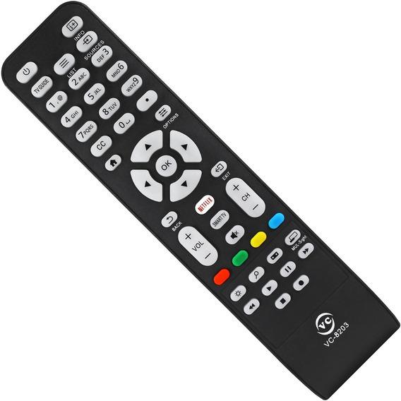 Controle Tv Aoc Com Netflix Le43s5977 / Le32s5970 Sem Pilhas