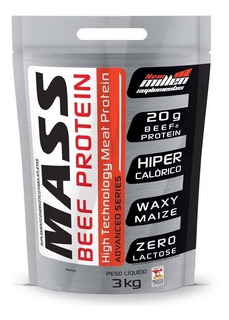 Massa Mass Beef Protein 3kg Chocolate New Millen