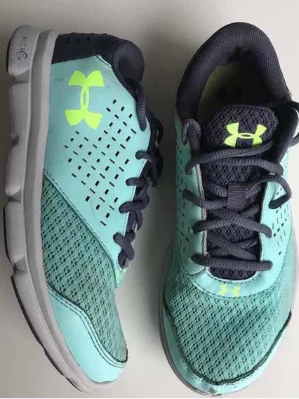 Zapatillas Talle 35.5 .under Armour.
