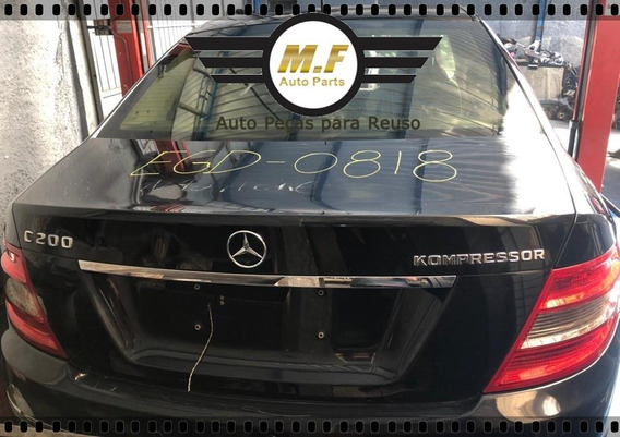 Sucata Mercedes C200 Kompressor 2009 1.8 16v Motor Cambio