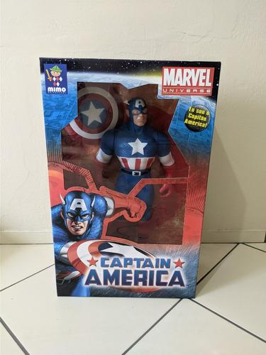 Boneco Capitão America Premium Grande
