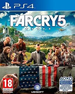Far Cry 5 Eu Ps4 Nuevo Fisico Sellado Envio Gratis