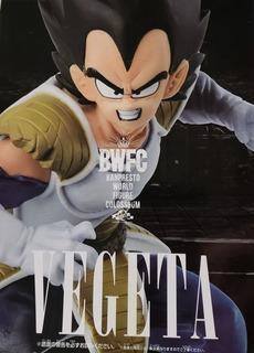 Figura Bwfc Vegeta De Dragon Ball Original (anda La Osa)
