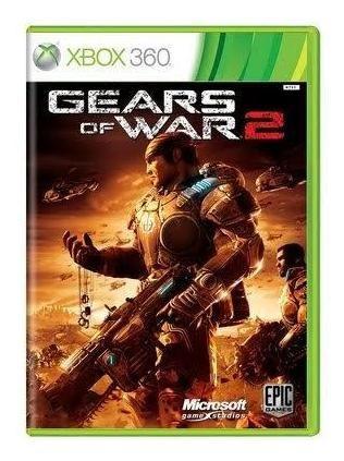 Gears Of War 2 Xbox 360 Mídia Física