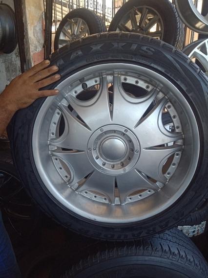 Jogo De Rodas Aro 20 5x139 (f1000,tracker,jeep Willys....