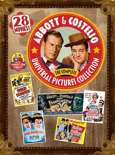 Abbott & Costello.the Complete Universal Pictures Collection
