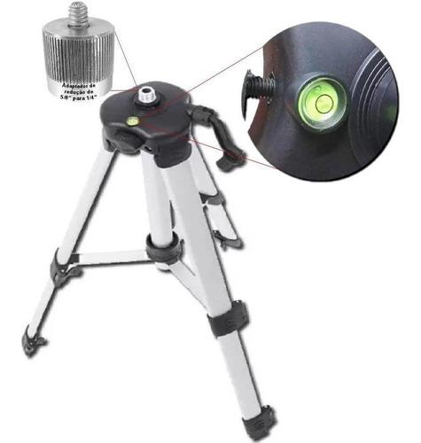 Imagem 1 de 4 de Tripé Cortag Para Nível Laser 1,2m + Bolsa De Transporte