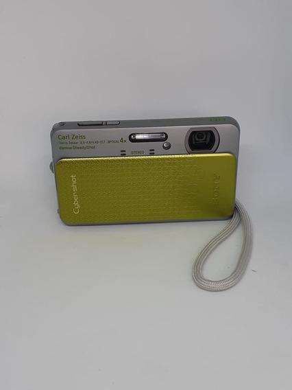 Câmera Sony Cyber-shot Dsc Tx-20 Verde E Cinza