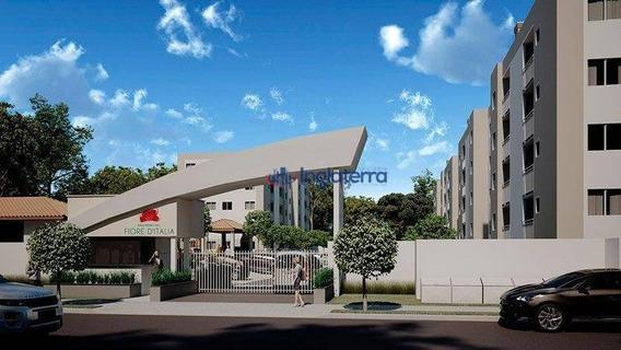 Apartamento Com 2 Dormitórios À Venda, 51 M² Por R$ 139.900,00 - Residencial Alto Do Café - Cambé/pr - Ap0798