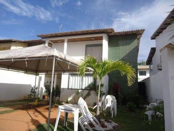 Casa Com 3 Dormitórios À Venda, 155 M² Por R$ 530.000,00 - Itapuã - Salvador/ba - Ca0259