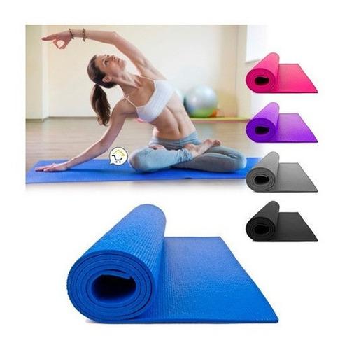 Tapete Yoga Mat Ejercicio Colchoneta Gimnasio Pilates Estera