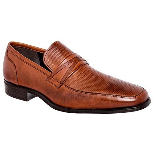 fb6bda2c Zapatos Vestir Mocasines Ginoch Hombre Piel Camel 93248 Dtt - $ 983.00 en  Mercado Libre