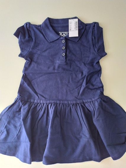 Vestido Niña The Childrens Place Azul 2t