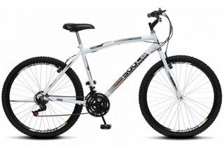 Bicicleta Aro 26 36r 18 Marchas Cb 500 Colli - Branco