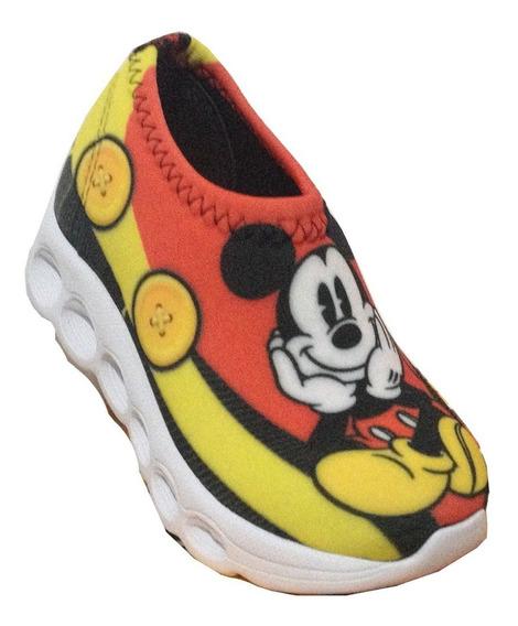 Tênis Infantil De Led Mickey Mouse Comprar Barato
