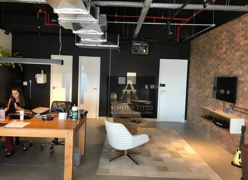 Excelente Sala Para Locação 79 M² Por R$ 3000/mês - Alphaville Conde Ii - Barueri/sp - Sa0591