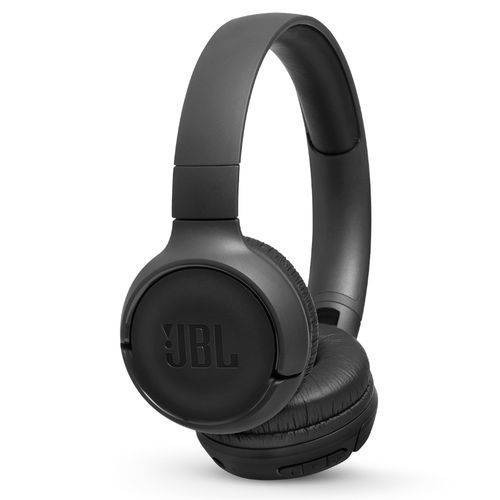 Fone De Ouvido Jbl T500bt Bluetooth Tune Preto Original