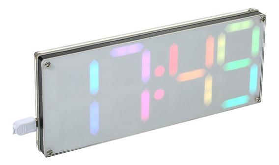 Ds3231 Diy Kit De Relógio Led Digital De 4 Dígitos Com Cores