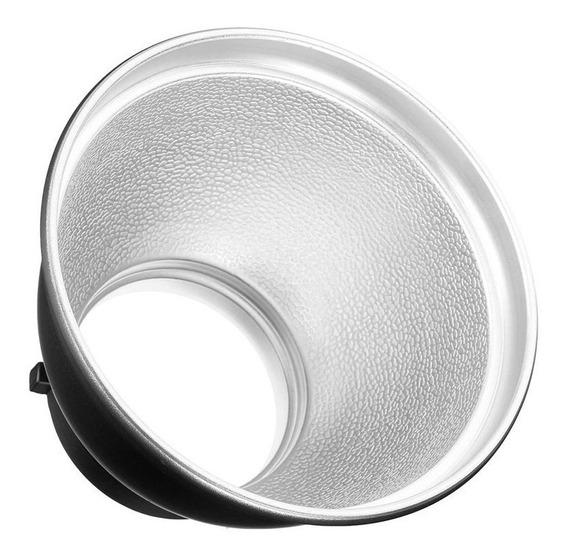 Refletor Flash 20cm Montagem Bowens Estúdio Ad600b Ad600bm