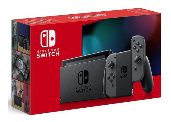 New Nintendo Switch Cinza Grey 2019 Pronta Entrega