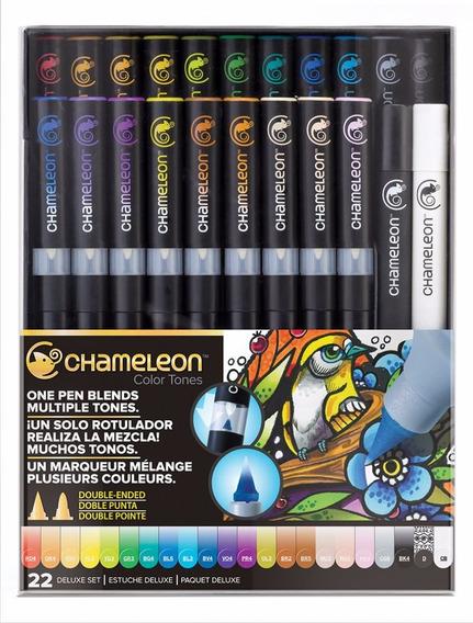 Caneta Chameleon Color Tones Deluxe Set 022 Cores
