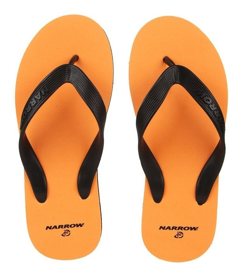 Ojotas Narrow Naranja-art 30144-originales-ultimos Pares-