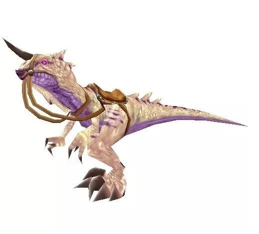 Wow Montaria - Raptor Primevo Branco-osso + Conquista