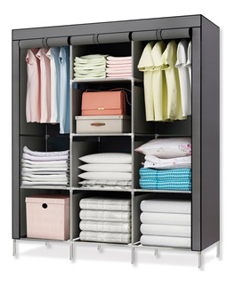 Closet Ropero Armable Transportable Gris 175x130x45 - R5620