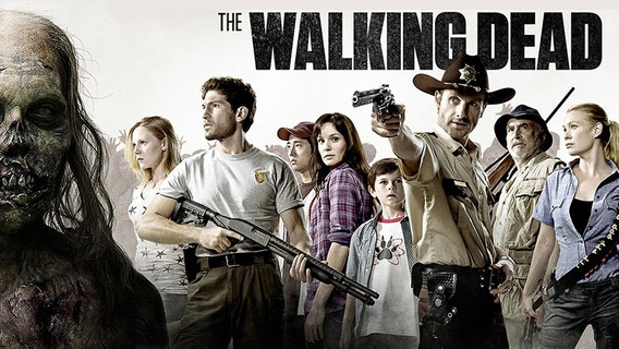 Serie The Walking Dead 9 Temporadas + 2usb 64 Y 32 Gb