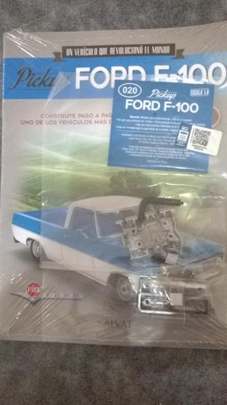 Pickup Ford F - 100 Para Armar Nro 20