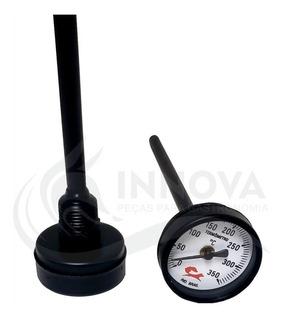Medidor De Temperatura Para Forno De Pizza Iglu Estufa 10cm