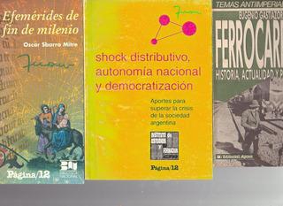 Efemérides Fin Milenio - Shock Distributivo - Ferrocarriles