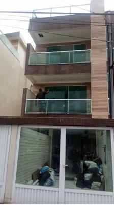 Sobrado Em Vila Belmiro, Santos/sp De 300m² 4 Quartos À Venda Por R$ 1.250.000,00 - So85194