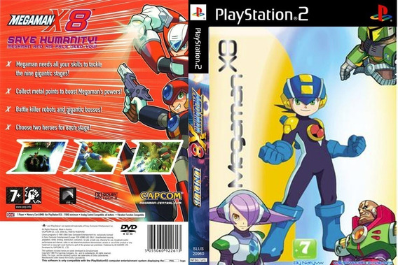 Patch Megaman X8 Ps2 Dublado