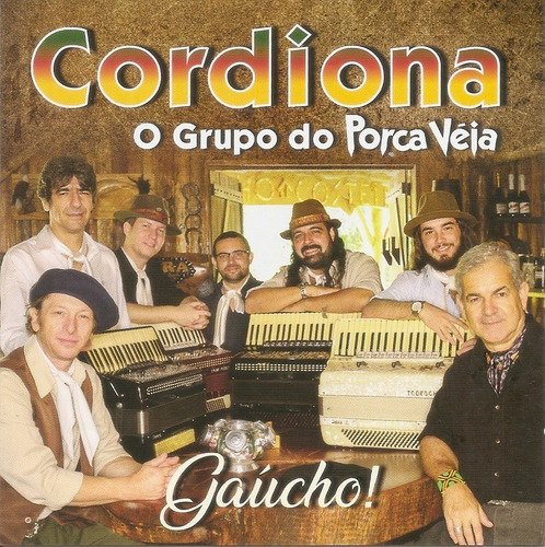 Imagem 1 de 1 de Cd - Grupo Cordiona - Gaúcho