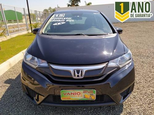 Honda Fit Lx 1.5 16v Completo Automático