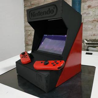 Cabina Arcade Nintendo Switch Diy
