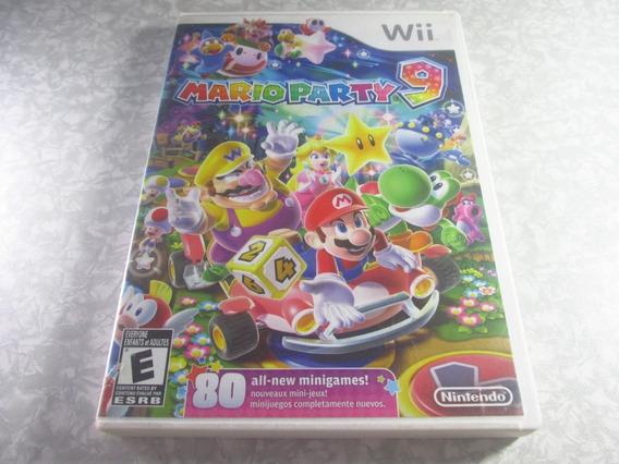 Wii - Mario Party 9 - Original Americano