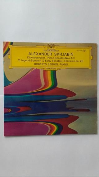 Lp Importado Alexander Skrjabin Música Clássica Frete Grátis