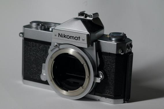 Nikon Nikomat Nikkormat Camera Filme Com 50mm F2
