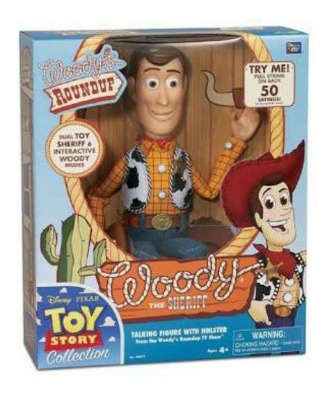 Woody Toy Story Edición Colección Nacional Nuevo 64012