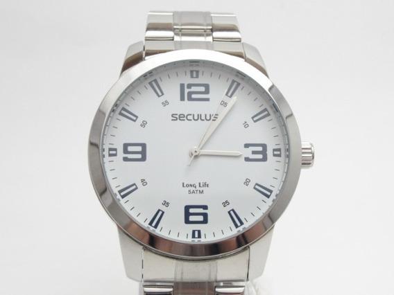 Relógio Seculus - Mod: Long Life - Estado De Novo
