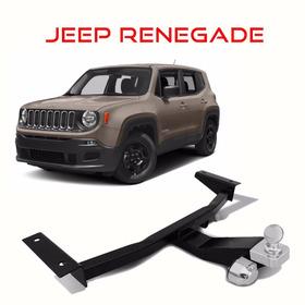 Engate Reboque Jeep Renegade 500 Kg /não Fura /homologado