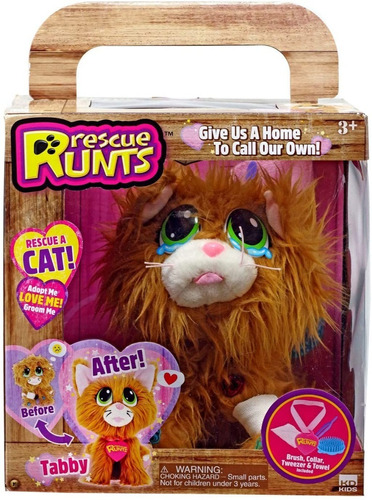 Rescate Runts  Mascota De Peluche Que Puedes Adoptar