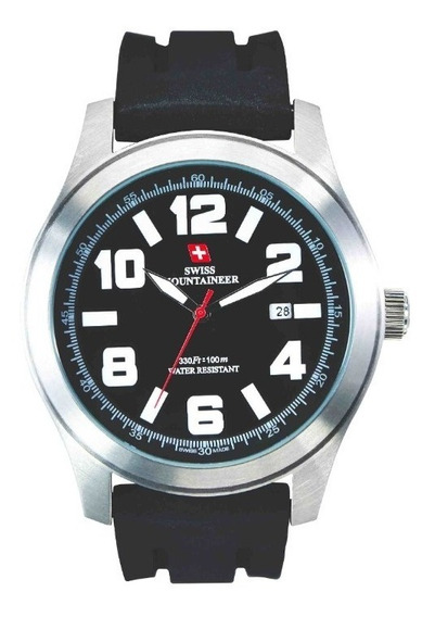 Relogio Suiço Watch Swiss Mountaineer Sml8040 48mm
