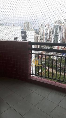 Apartamento Com 3 Dormitórios À Venda, 89 M² Por R$ 618.000,00 - Vila Regente Feijó - São Paulo/sp - Ap0392